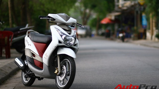 """Yamaha Mio Ultimo 2009: Thêm một chút """"sang"""""""