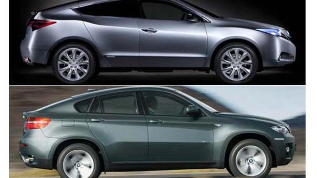 BMW X6 và Acura ZDX - Một chút so sánh