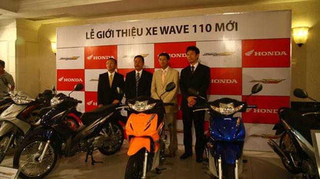 Honda Việt Nam ra mắt Wave 110 mới