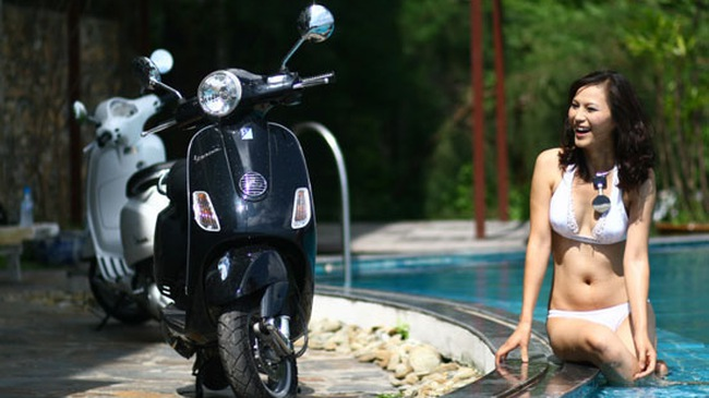 """Piaggio Vespa LX Việt Nam: Thấp hơn, nhẹ hơn và """"rẻ"""" hơn"""