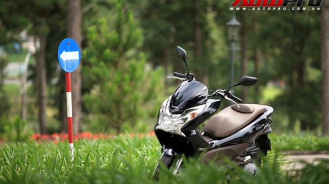 Những hình ảnh chi tiết nhất về Honda PCX Việt