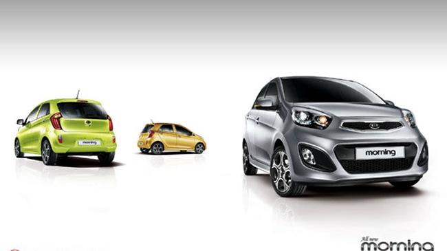 4 lựa chọn động cơ dành cho Kia Morning 2012
