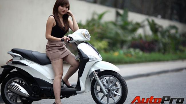 """Piaggio Liberty Việt: """"Vẫn là xe đáng mua!"""""""