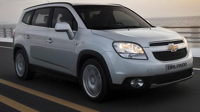 Chevrolet Orlando 2012 đã có giá bán