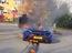 Siêu xe triệu USD hàng hiếm McLaren P1 cháy như đuốc trên phố